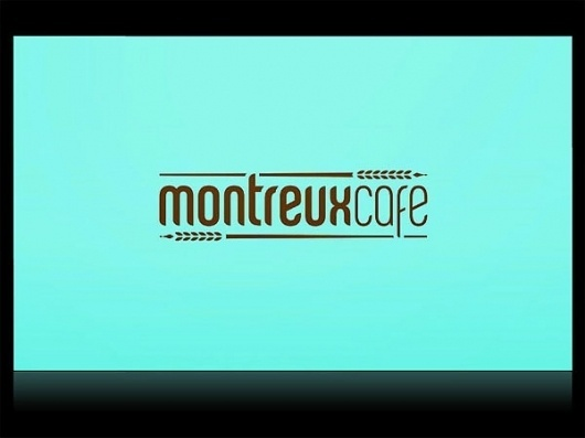 Montreux Café Identity System - FPO: For Print Only