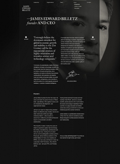 Erik Jonsson #website #webdesign