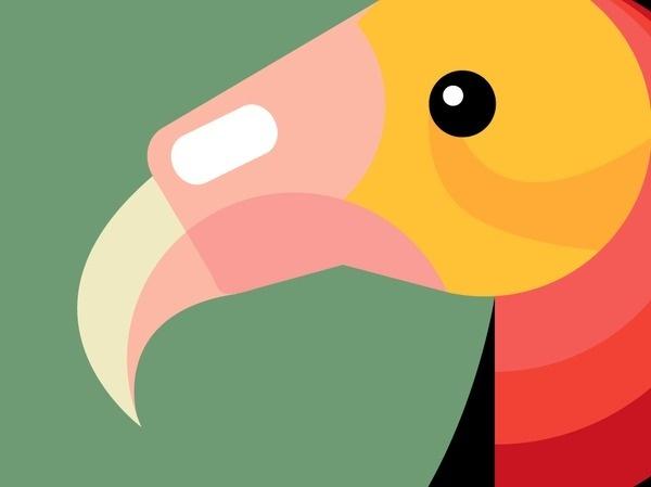 The Art of Flight #logos #theory #j #design #graphic #color #shields #galdamez #birds #illustration #colors #joseph #daniel #california