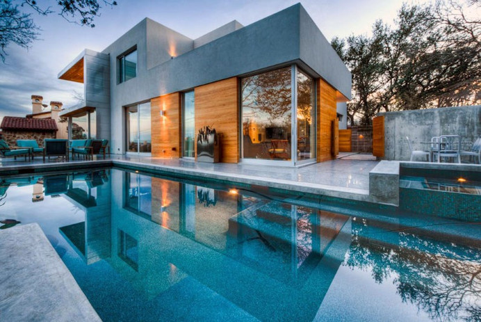 CityView Residence by Dick Clark Architecture - www.homeworlddesign (19) #architecture #texas