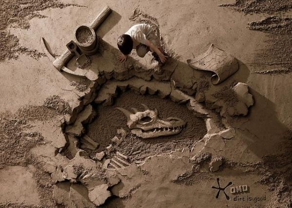 Colossal | An art and design blog. #sand