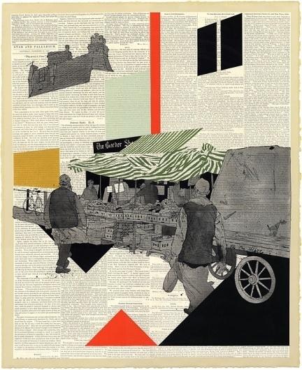 bethnal green market « Evan Hecox #print #hecox #evan #poster