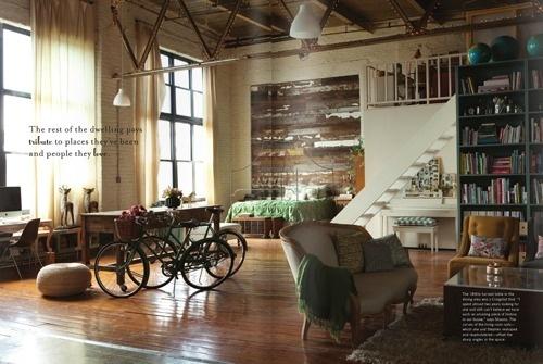 anthro3 #interior #cut #wood #bike #armchair #magazine