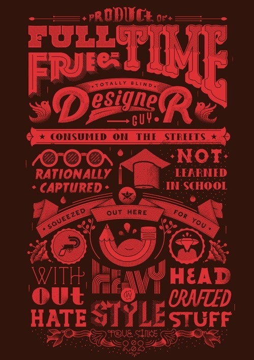 Head Crafted Stuff by Stefan Stanojevic #technique #lettering #design #graphic #craftsmanship #quality #typography