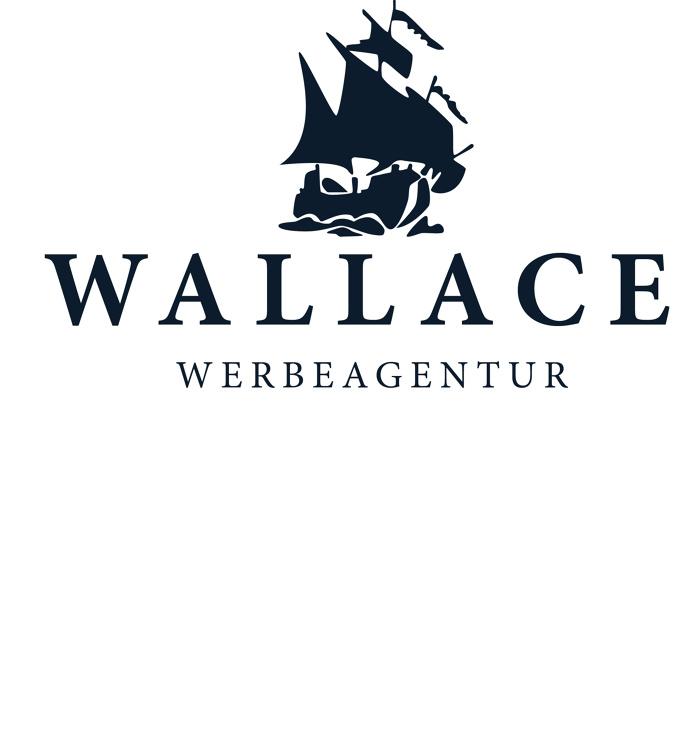 Wallace Logo #logo #mark #brand #ship #boat #water