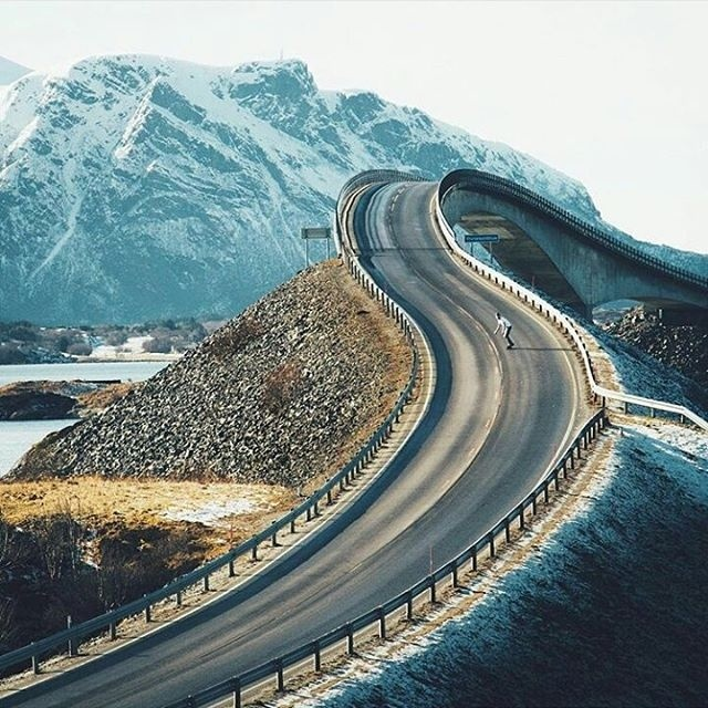 Atlantic Ocean Road by @lennartpagel