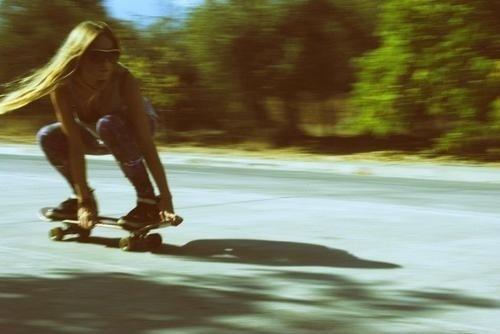 ZdjÄ™cia na tablicy #longboard #girl #ride #road #skate #summer #street #skateboard