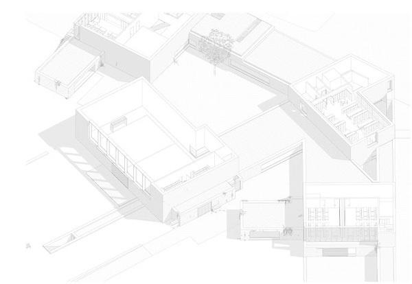 Nová Škola pro Psáry / Dome Architecture #architecture #drawing