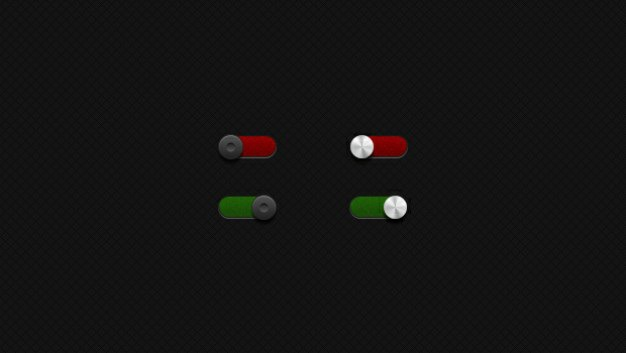 Toggle red green button Free Psd. See more inspiration related to Green, Button, Red, Iphone, Buttons, Switch, Horizontal, Toggle, Switches, Toggle switch and Iphone button on Freepik.