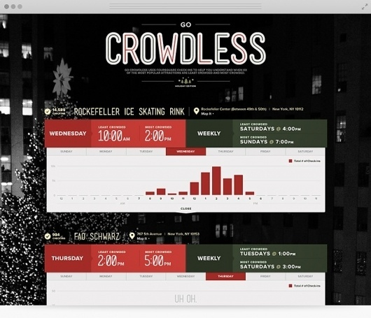 Go Crowdless | Holiday - The Portfolio of Ryan Johnson #website