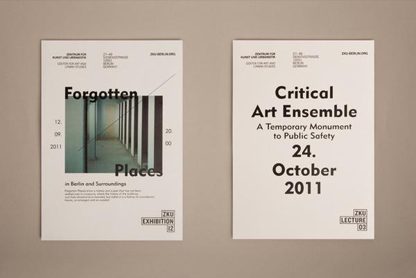 Zentrum für Kunst und Urbanistik 2012 Paul Leichtfried – Visual Communication #publication #typography