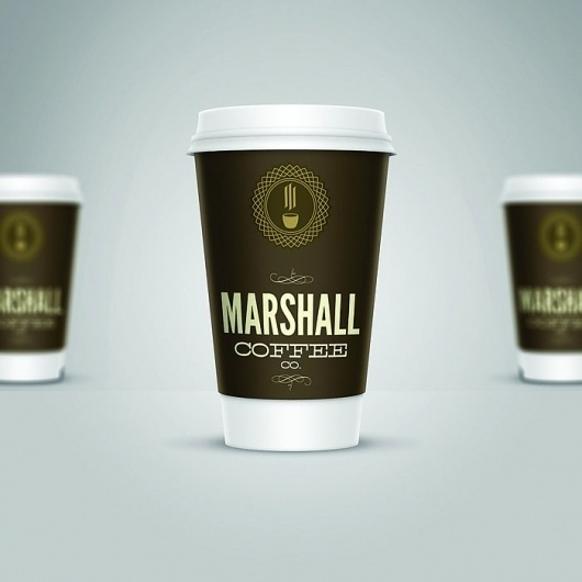 Marshall CoffeeCo. - TheDieline.com - Package Design Blog