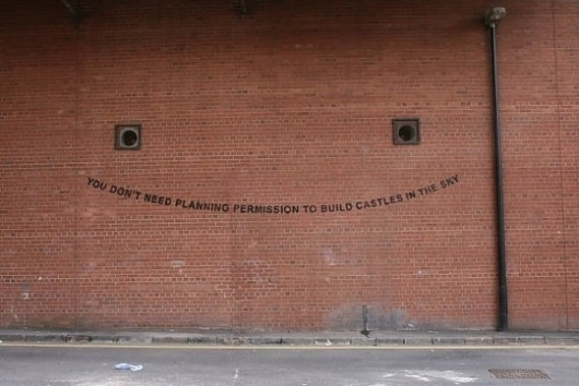Banksy updated website to reveal new work in UK | Curatedmag.com #swords #tag