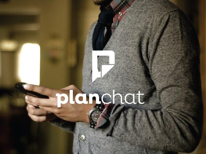 PlanChat by Ian Trajlov #logo #design #identity #branding