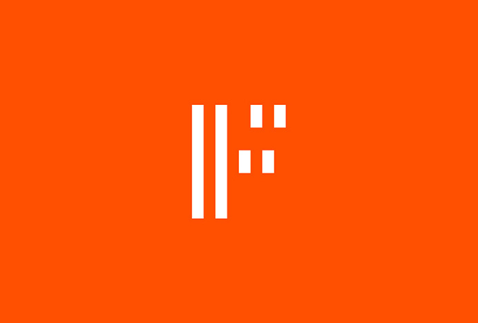 Forma by About Design #logo #mark #monogram #type #orange
