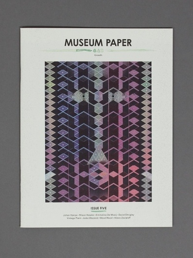 Museum Paper | Museum Studio – Art Direction & Graphic Design #zine #museum #print #studio #paper