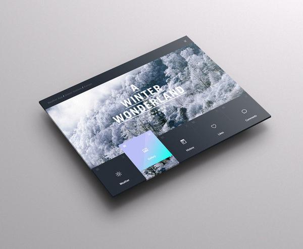 STUDIOJQ2013_DASHBOARD_WEATHER_Full #information #weather #ux #infographic #design #ui #type