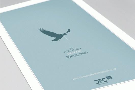 david taylor || design & illustration #despair #illustration #poster
