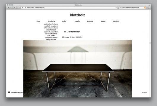Bänziger Hug - Welcome / Bench.li #webdesign