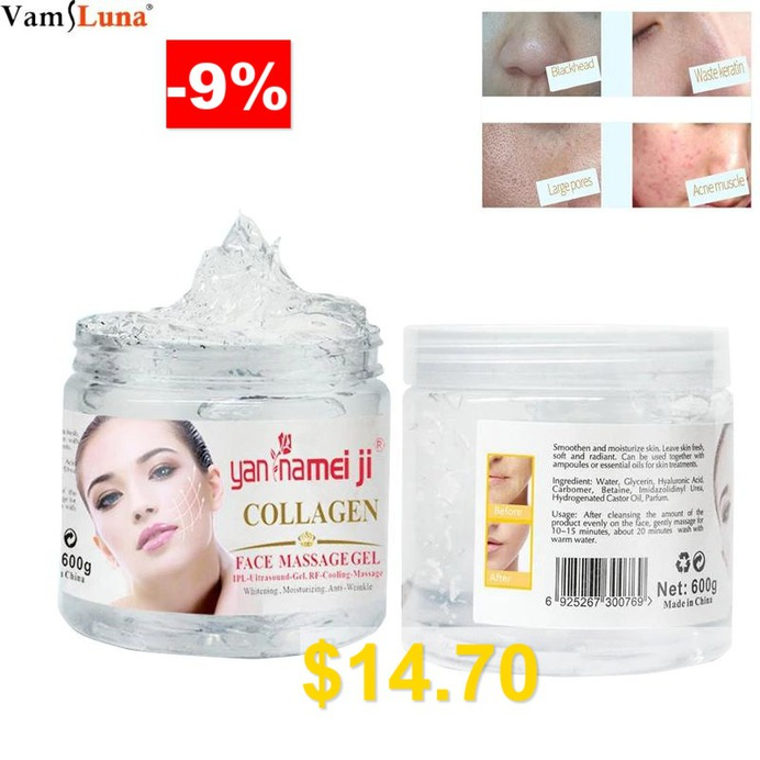 Face #massage #gel #600ml #bottle #Ultrasound #IPL #Cooling #Gel #Skin #Firm #Lift #Tighten #RF #Transmission #Gel