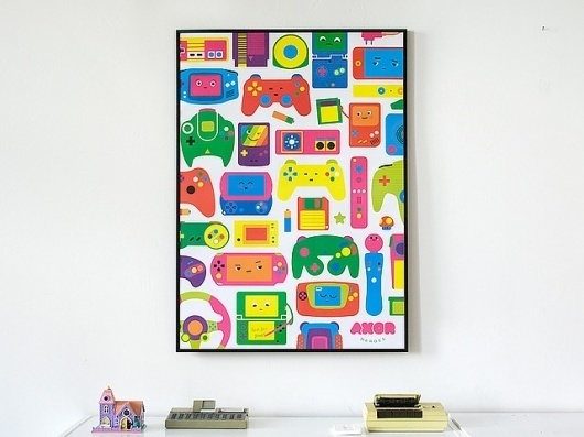 Love for Games 2011 edition   Flickr - Photo Sharing! #illustration #gaming #poster
