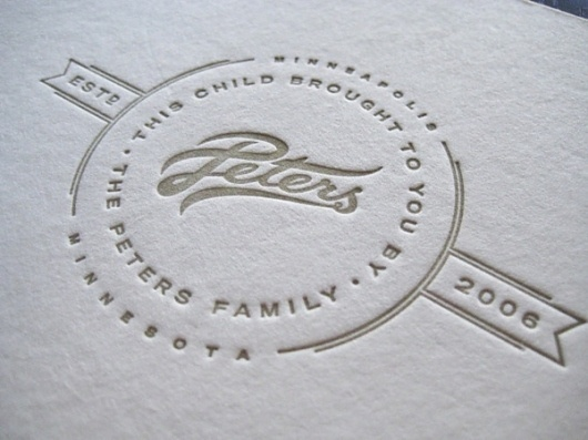 Looks like good Graphic Design by Allan Peters #allan #design #graphic #letterpress #peters