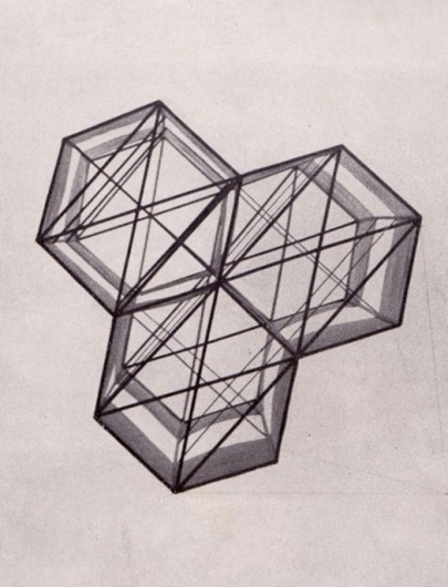 Accidental Mysteries: A Weekly Cabinet of Curiosities Curated by John Foster: Observatory: Design Observer #hexagons