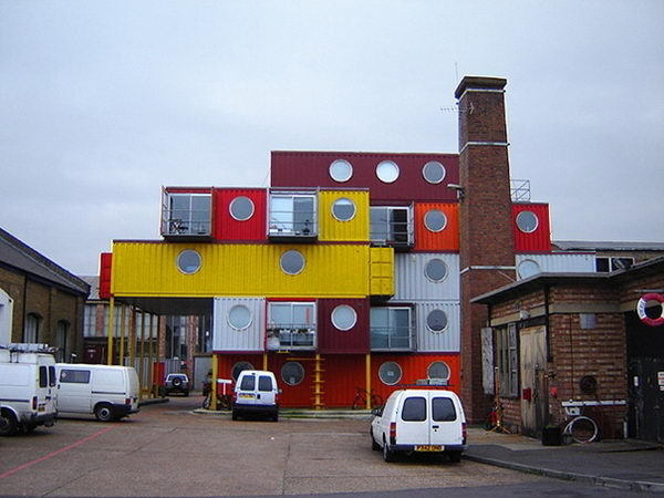 Container City (London, United Kingdom) #building #house #interesting