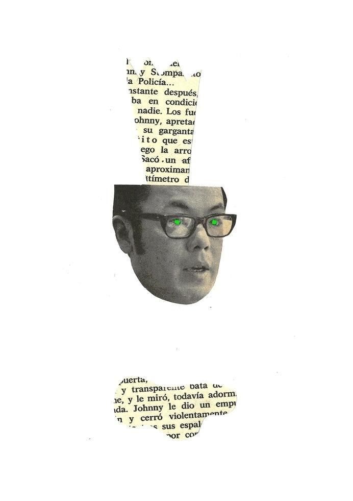 Poseído #collage #collageart #cutandpaste #germendetrigo #artwork #murcia #spain #cool #crazy #trendy