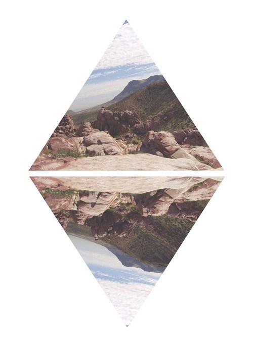 Wanderer Inspiration #mirror #triangle