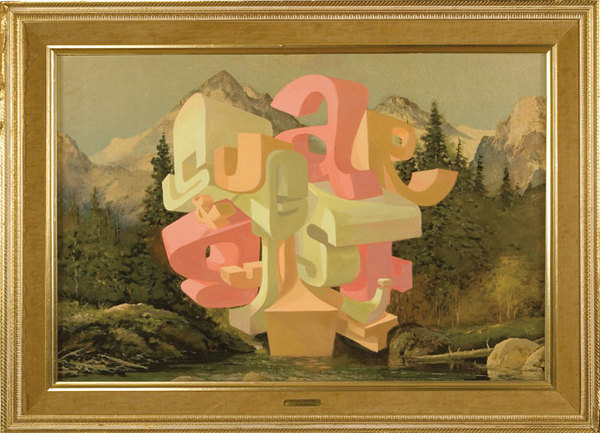 Wayne White : Word Paintings