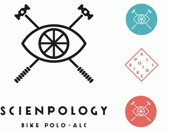 Friday Likes 09 - Brand New #bicycle #polo #wheel #eye #logo #monostroke