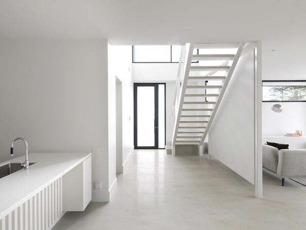 Caulfield Townhouses by Davidov Partners #interior #house #minimalism #minimal #minimalist