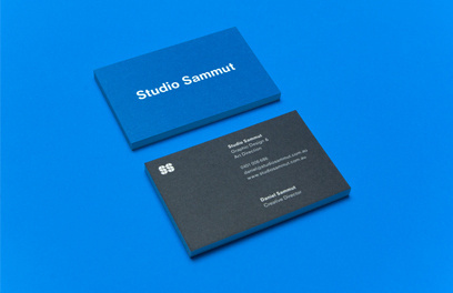 Studio Sammut #card #print #business #stationery