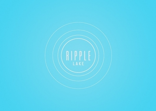 Branding 10,000 Lakes #lake #logo #typography