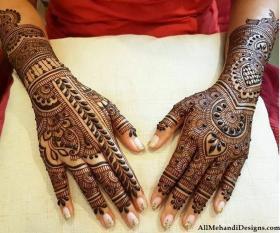 Easy Arabic Mehendi Design