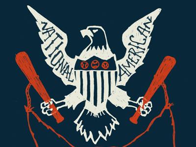 National Pastime #shield #eagle