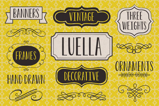 luella typeface by youworkforthem #drawn #lettering #hand #typography