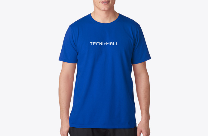 Tecnimall — #branding #logo #businesscard #blue #simple #minimal #minima #studio #minimalism #brand #technology #computer #design #graphic