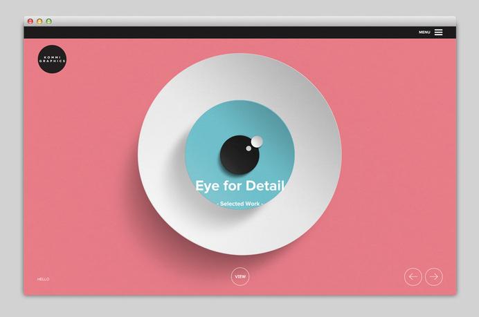 Websites We Love — Showcasing The Best in Web Design #agency #eyes #portfolio #design #best #website #ui #eye #minimal #webdesign #web #typography