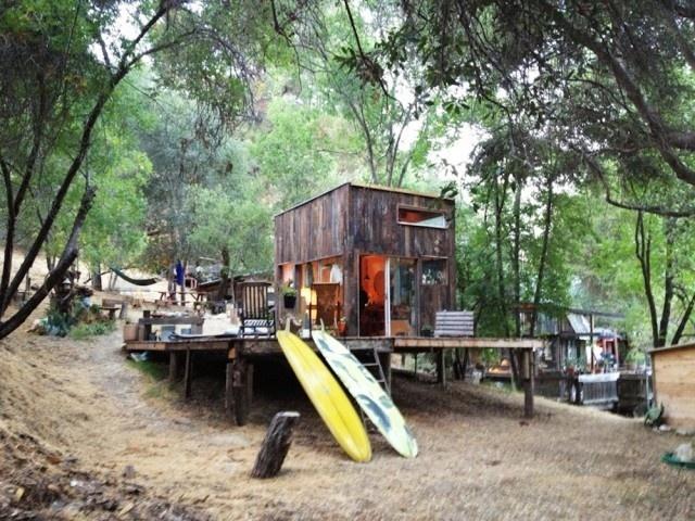 Cabin in Topanga4 #interior #design #decor #wood #architecture #deco #cabin #decoration