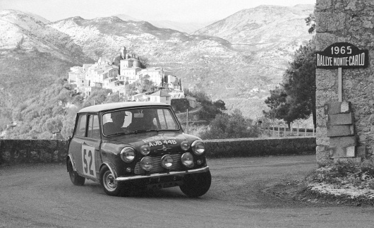 mini-cooper-at-the-1965-monte-carlo-rally-photo-323608-s-1280x782.jpg (JPEG Image, 1280 × 782 pixels) #rally #min