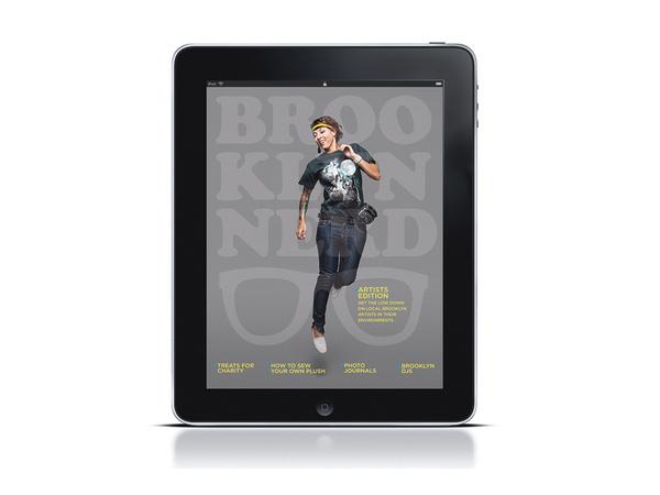 Brooklyn Nerd #ipad #nerd #editorial #brooklyn
