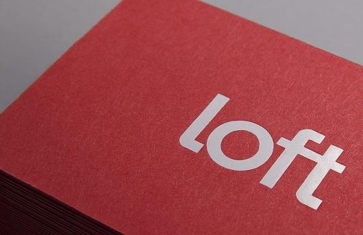 Loft Investments « Design Bureau – Lundgren+Lindqvist #business #stationary #design #identity #logo #cards