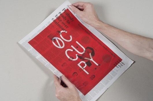 Portfolio of Luke Robertson   Occupied Mono #monospaced #specimen #ows #occupy #mono #occupydesign #typography