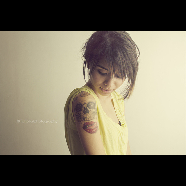 Tattoo Artist #7d #young #girl #lal #india #photoshoot #octa #canon #books #pretty #delhi #tattoo #portrait #photography #studio #penguin #shoot #rahul #new