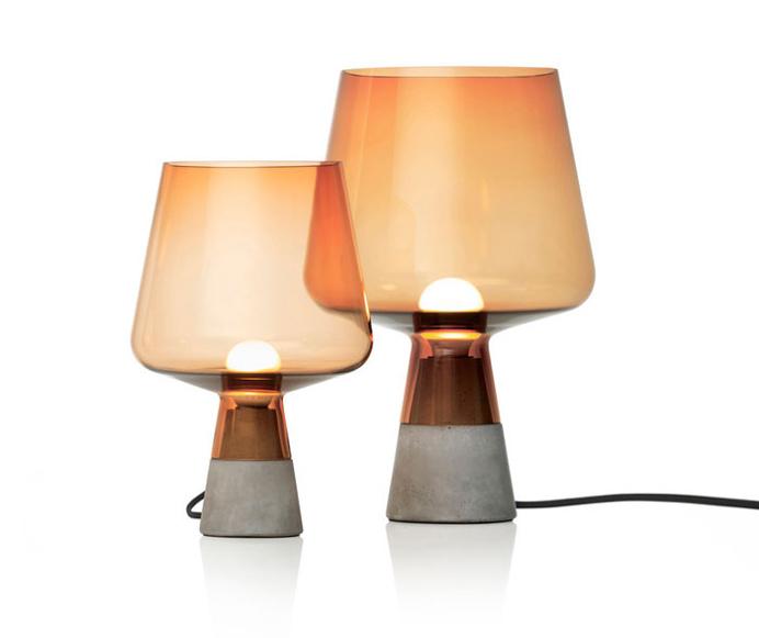 Table Lamp on a Concrete Base