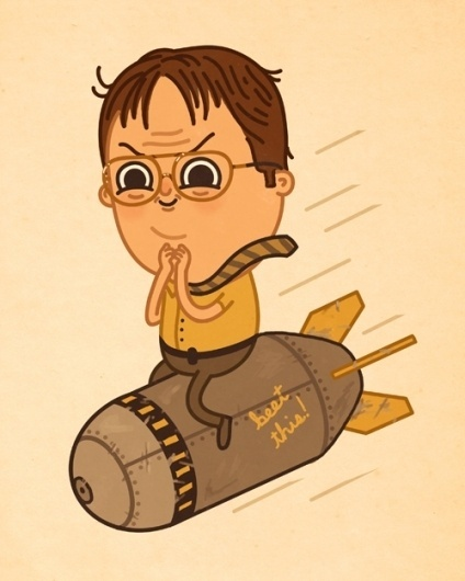 Tumblr #charachter #sirmitchel #bomb #illustrato