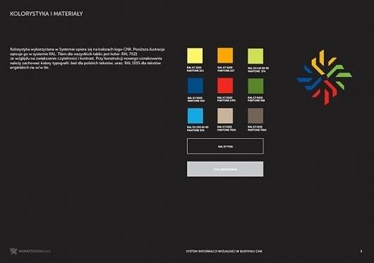 Copernicus Science Centre | Identity Designed #branding #guidelines #book #corporate #brand #identity #standards