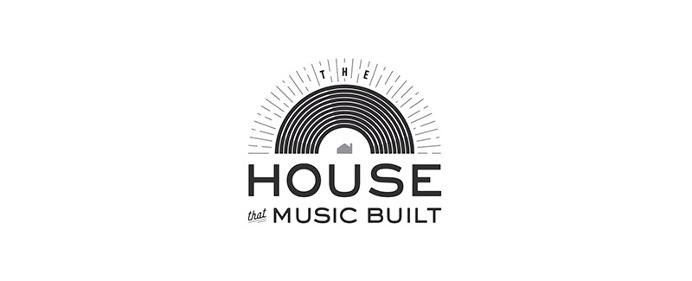 House that Music Built Logo - Paul Tuorto